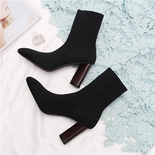 秋冬季袜子靴