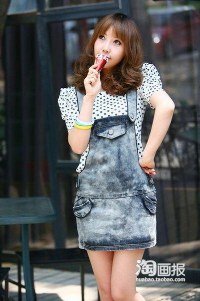 15款韩式搭配 显瘦的甜辣风格